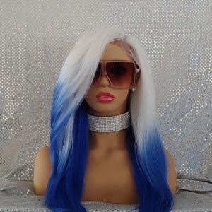 Ice Blue Wig New with tags